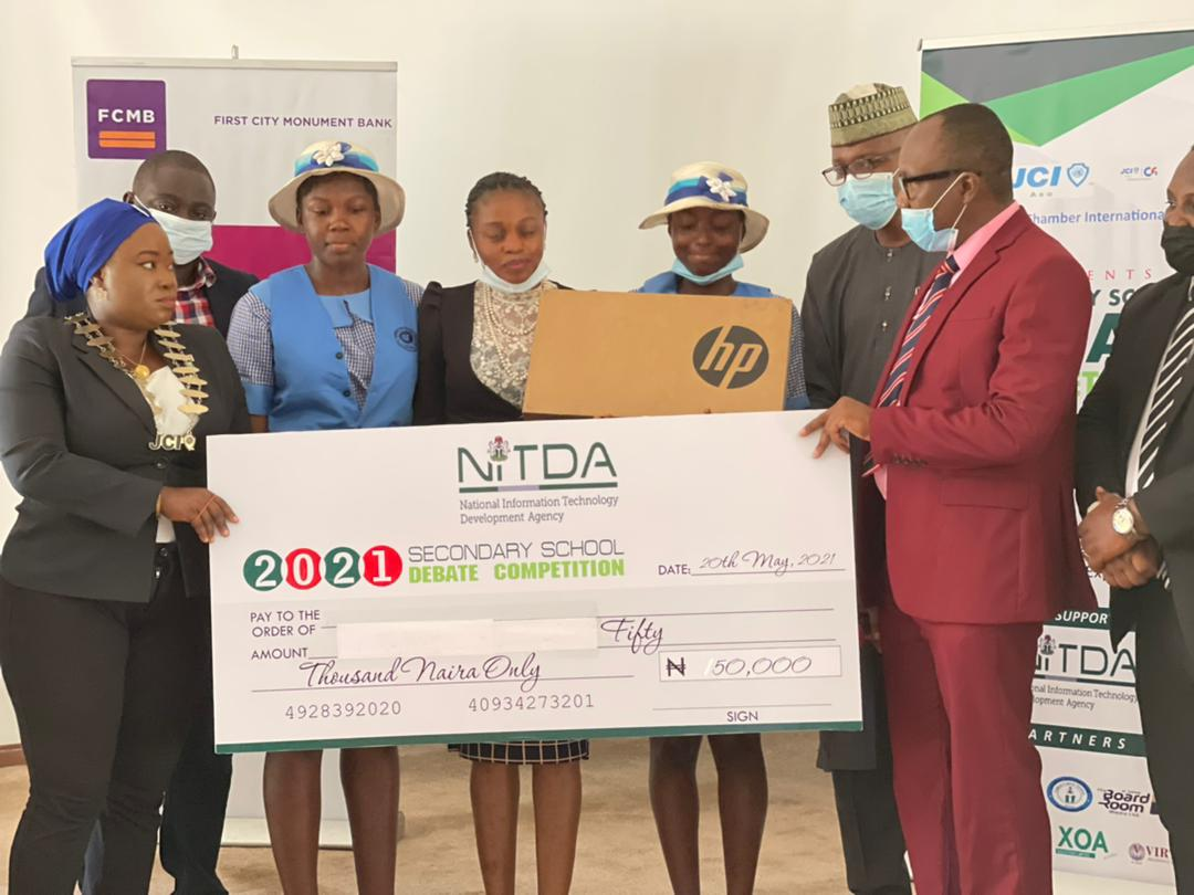 NITDA DG Admonishes High School Students To Be Responsible Online, SiliconNigeria