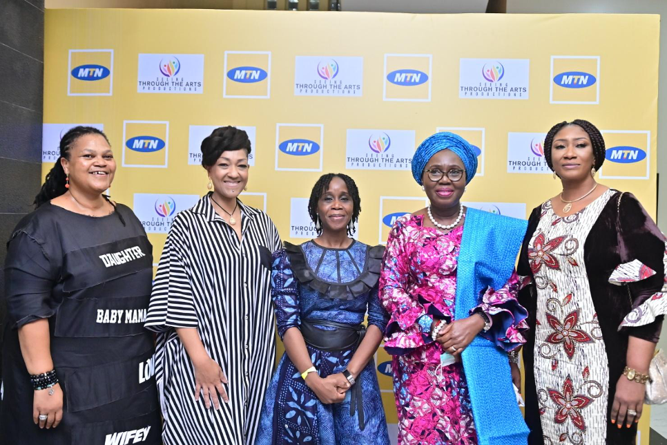 Waje Elvina Ibru and Ufuoma McDermott Deliver Outstanding Performances at MTN Foundation-Sponsored Flower the Musical, SiliconNigeria