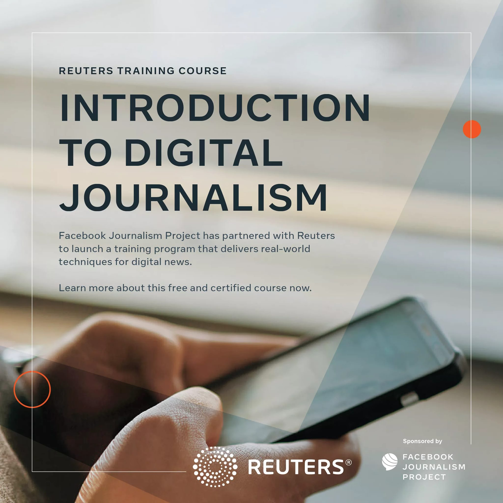 Facebook Partners Reuters to Launch Free Online Course for Journalists, SiliconNigeria
